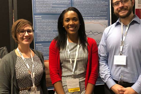 Kathryn Ross Brittney Dixon and Abe Eastman present at SBM 2018