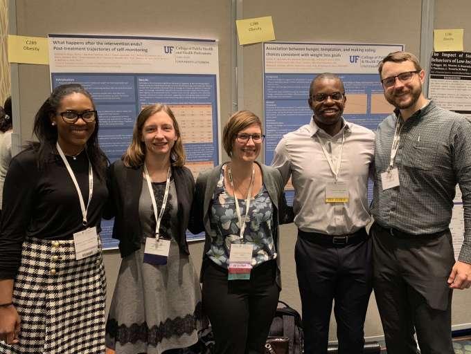 Brittney Dixon, Andrea Brockmann, Kathryn Ross, Umelo Ugwoaba, Abe Eastman at SBM 2019